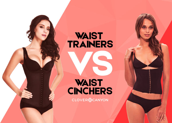 Do You Know The Difference between A Waist Trainer & Waist Cincher