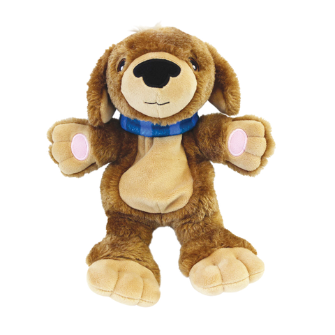 "AnimaStuffies™ ""Beau"" Plush Dog Toy"