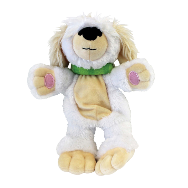 "AnimaStuffies™ ""Edie"" Plush Dog Toy"