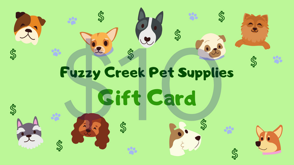 Fuzzy Creek Gift Card $10