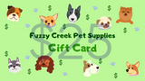 Fuzzy Creek Gift Card $25