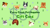 Fuzzy Creek Gift Card $50