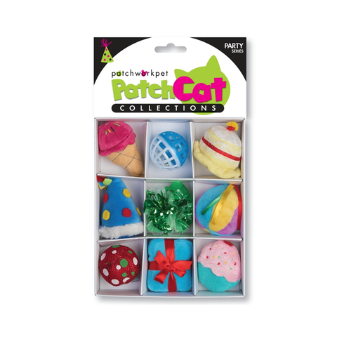 PatchCat Party Collection Cat Toys