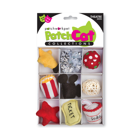 PatchCat Theater Collection Cat Toys