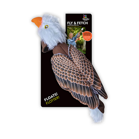 Fly and Fetch Eagle Dog Toy