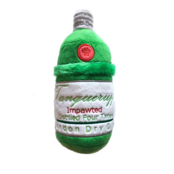 Tanqueruff Bottle Plush Dog Toy