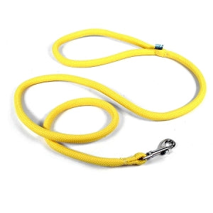 Round Braided Yellow Rope Dog Leash
