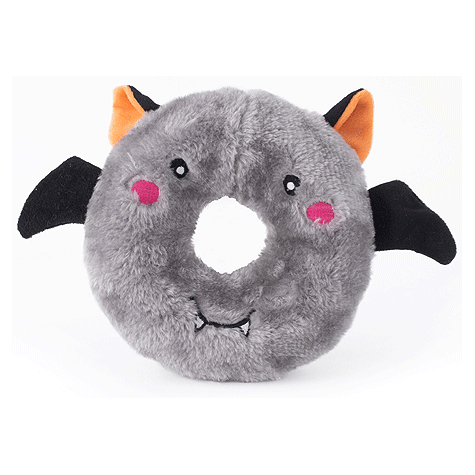 Bat Donutz Buddie Plush Dog Toy