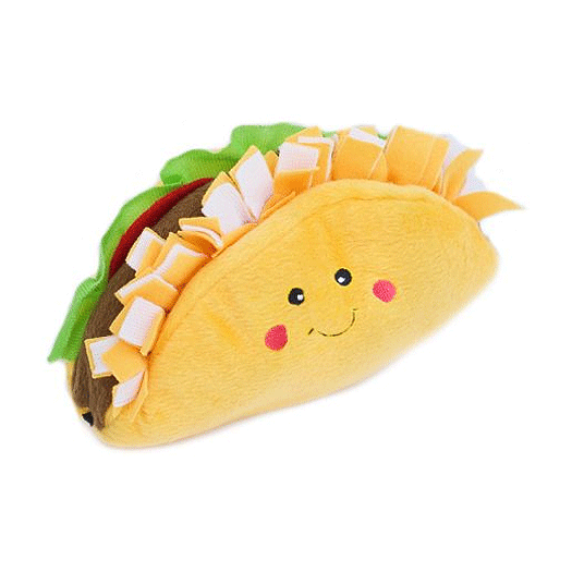 NomNomz Plush Taco Dog Toy