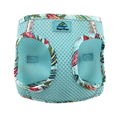 American River Dog Harness - Hawaiian Blue