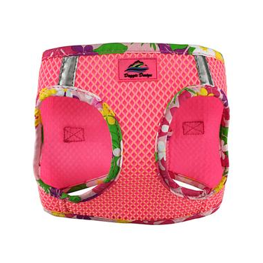 American River Dog Harness - Hawaiian Pink