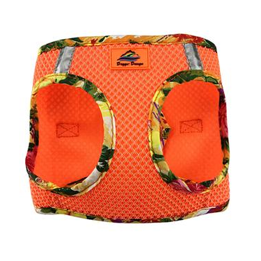 American River Dog Harness - Hawaiian Orange