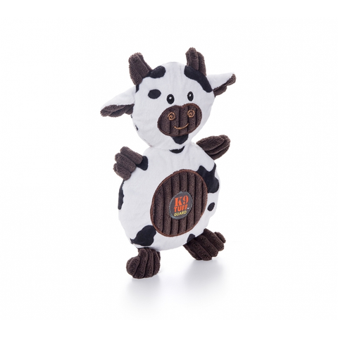 Ani-Mates Cow Plush Dog Toy