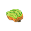 Avocado Toast Plush Dog Toy