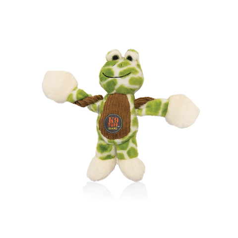 Farm Pulleez™ Frog Plush Dog Toy