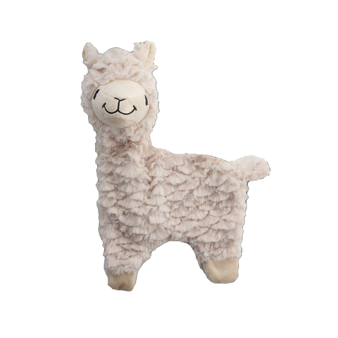 Alpaca Squeaker Plush Dog Toy