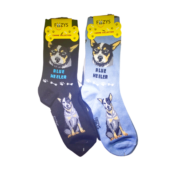 Blue Heeler Women's Crew Socks
