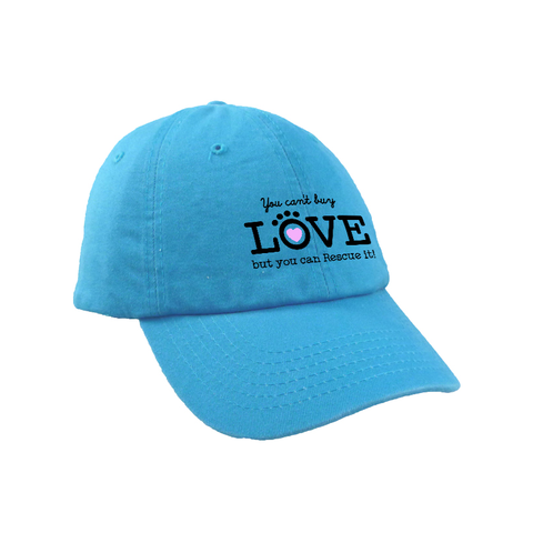 Baseball Hat - Can't Buy Love but You Can Rescue It