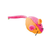 Whiskins Felt Mouse Cat Toy - Pink/Orange