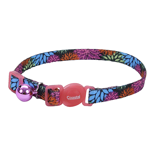 Wildflower Breakaway Nylon Cat Collar