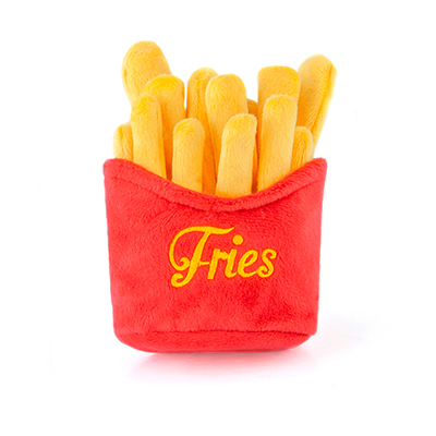 Classic American French Fries Plush Dog Toy