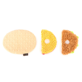 Taco Tuesday Plush Dog Toy Apart