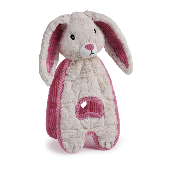 Cuddle Tug Bunny Plush Dog Toy