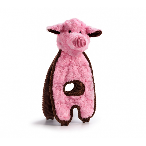 Cuddle Tugs™ Pig Plush Dog Toy
