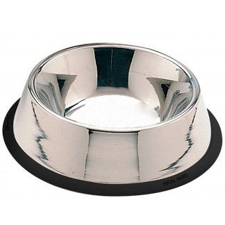 Stainless No-Tip 32oz Dog Bowl
