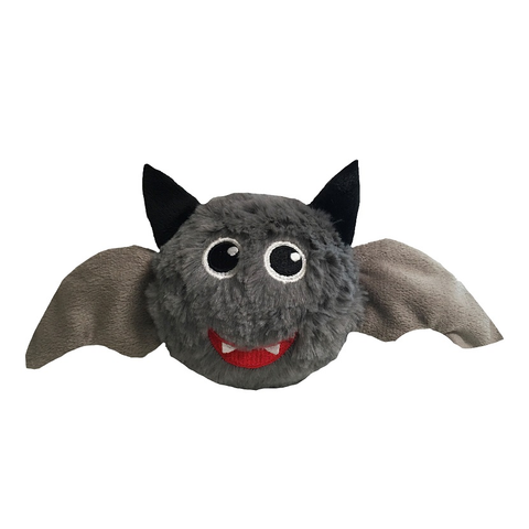 Halloween Bat Faball Plush Dog Toy