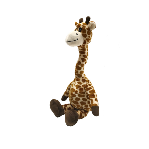 Floppy Giraffe Plush Dog Toy