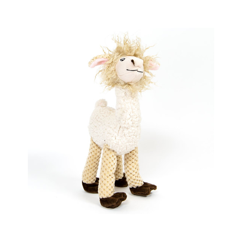 Floppy Llama Plush Dog Toy - Standing