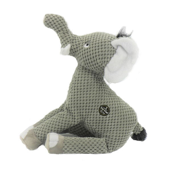 Floppy Elephant Plush Dog Toy