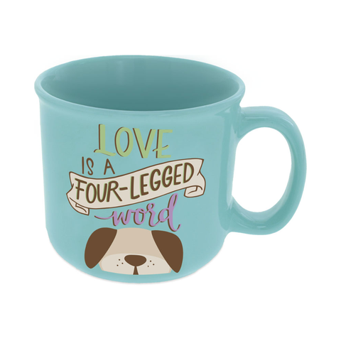Pawsitive Mug - Love is a Four-Legged Word
