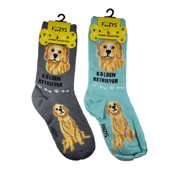 Golden Retriver Women's Crew Socks