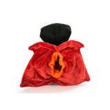 Hatchable Halloween Dracula Plush Dog Toy - Back