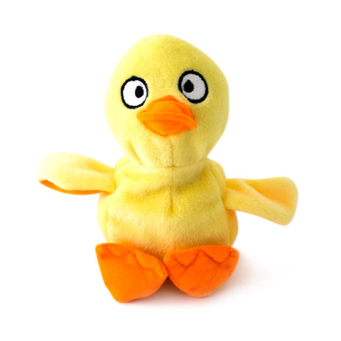 Hatchable Duck Egg Plush Dog Toy