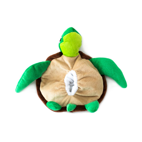 Hatchable Turtle Egg Plush Dog Toy - Bottom