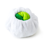 Hatchable Turtle Egg Plush Dog Toy in Shell