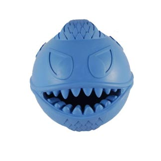 Monster Ball Rubber Treat Dog Toy