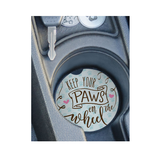 Car Coaster - Keep your Paws on the Wheel