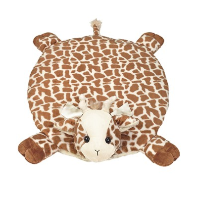 Lil' Patches Giraffe Plush Dog Bed