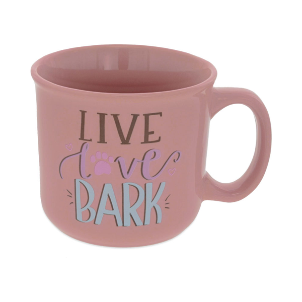 Pawsitive Mug - Live, Love, Bark