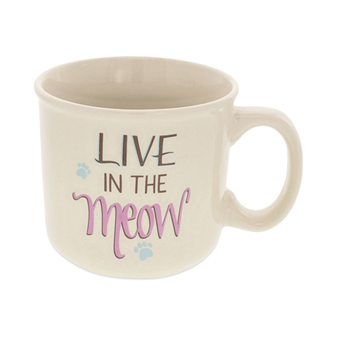 Pawsitive Mug - Live in the Meow