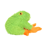 Mighty Jr. Microfiber Frog Dog Toy