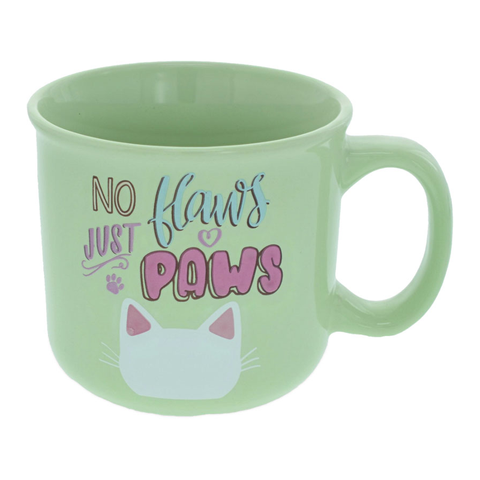 Pawsitive Mug - No Flaws Just Paws
