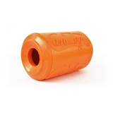 Soda Pup Rubber Can Dog Toy - orange bottom