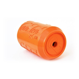 Soda Pup Rubber Can Dog Toy - orange top