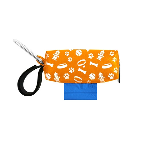 Orange Pet Gear Duffel with Waste Bags