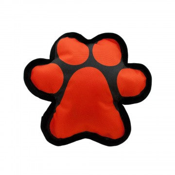 Tuff Paw Squeaker Dog Toy Orange